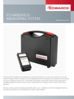 Brochure Edwards P3 handheld Measuring System