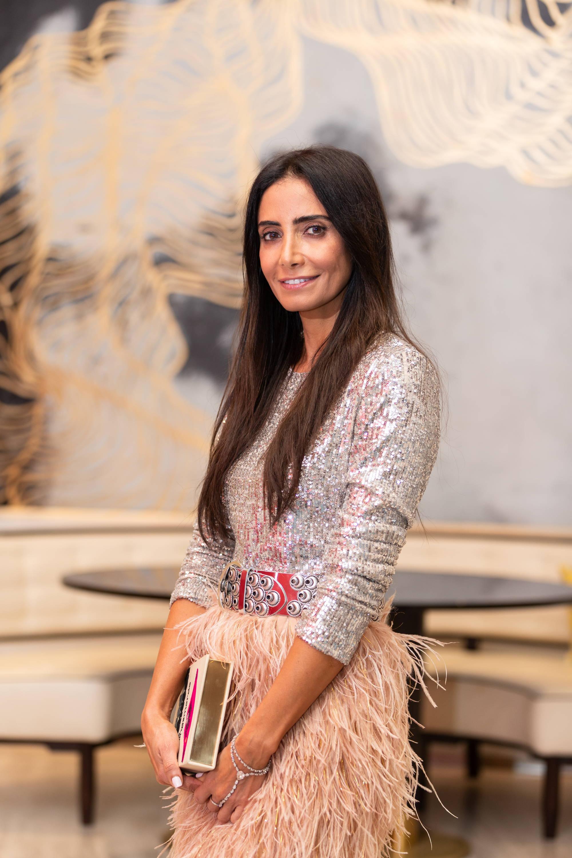 Abeer Al Otaiba at Abu Dhabi's Café Milano