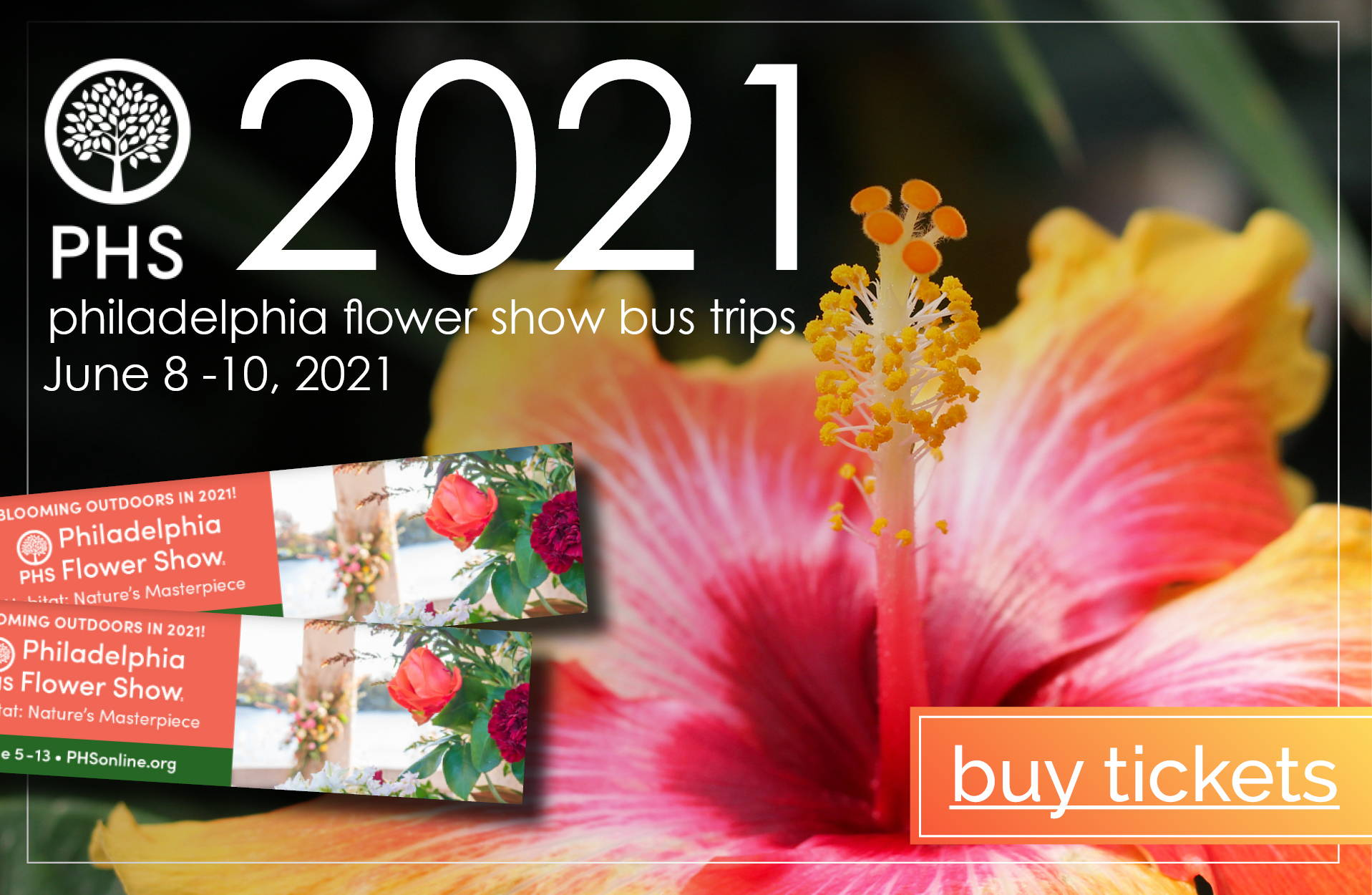 Philadelphia Flower Show Bus Trips | Buy Tickets