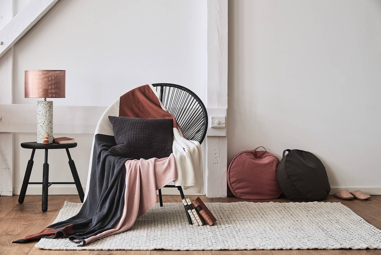 Lagom Wohnzimmer Trend Wollteppich