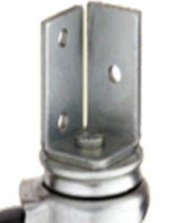Angle Iron Stem Casters