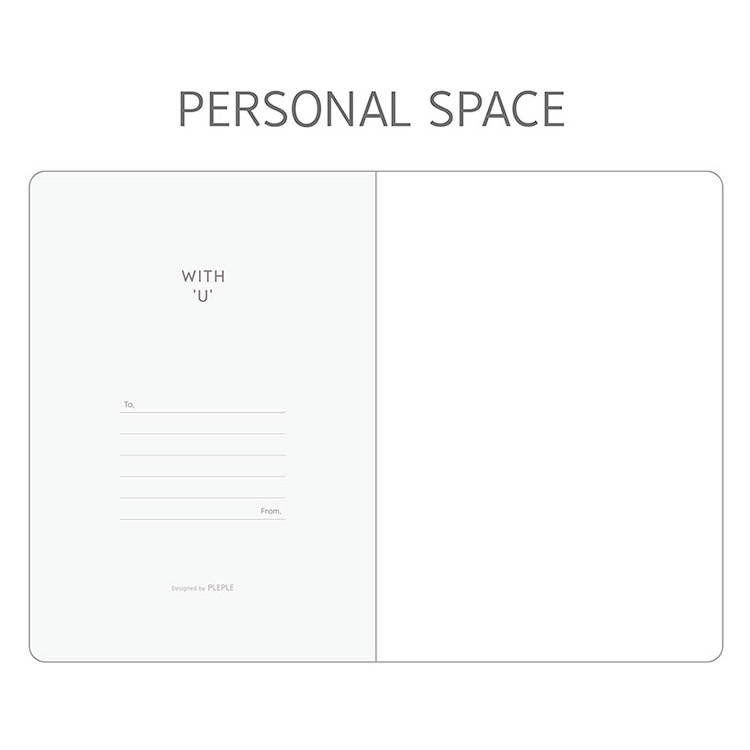 Personal data - PLEPLE 2020 With you dated weekly diary planner