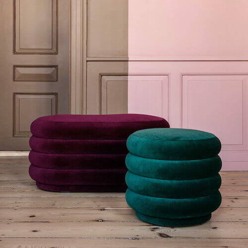 Ferm Living Pouf Oval