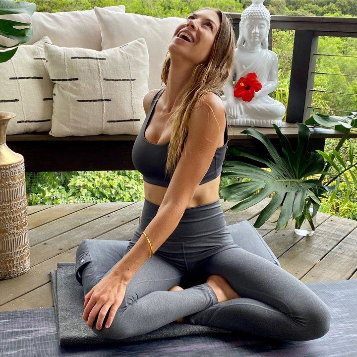Relaxing into Happiness   Mukha Yoga
