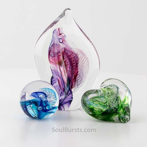 Cremation Glass Art