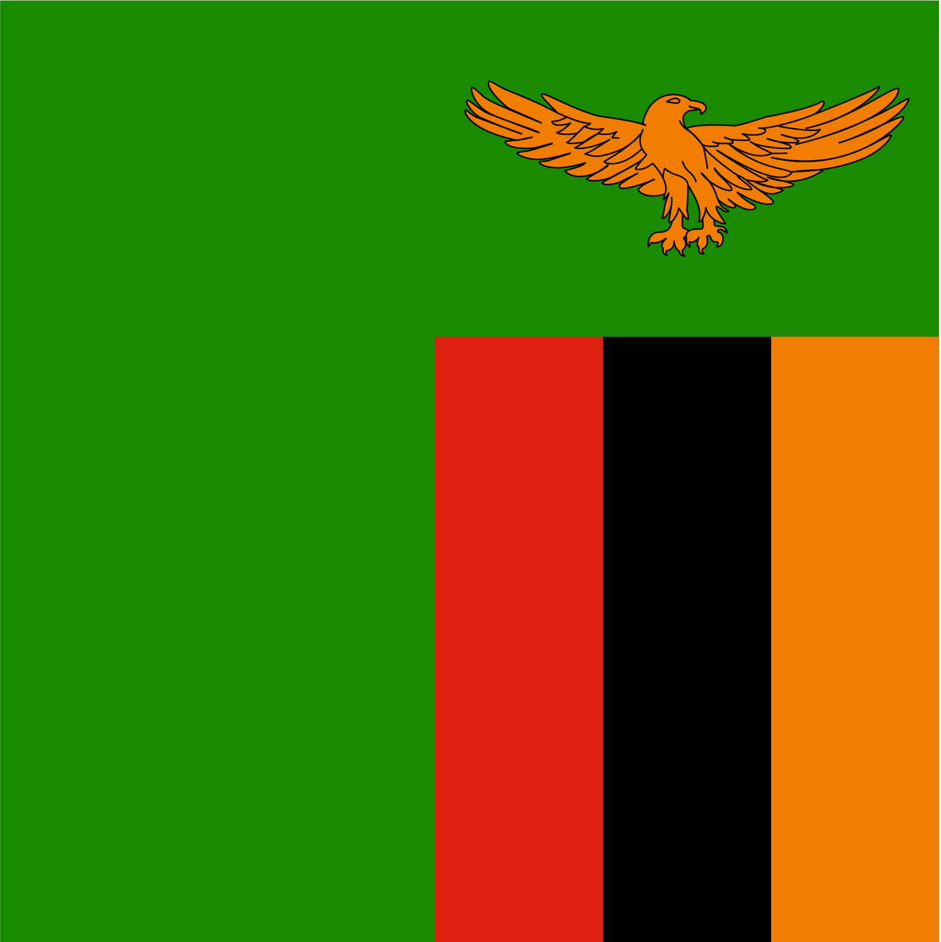 The Zambia Flag