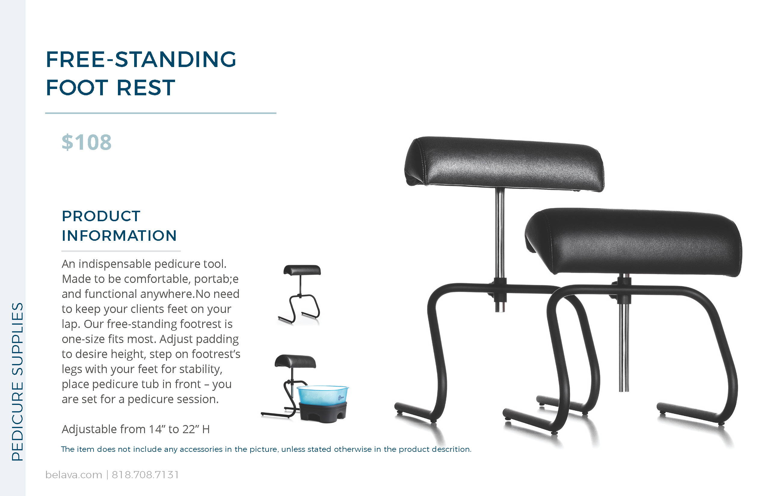 Free-Standing Foot Rest by Belava