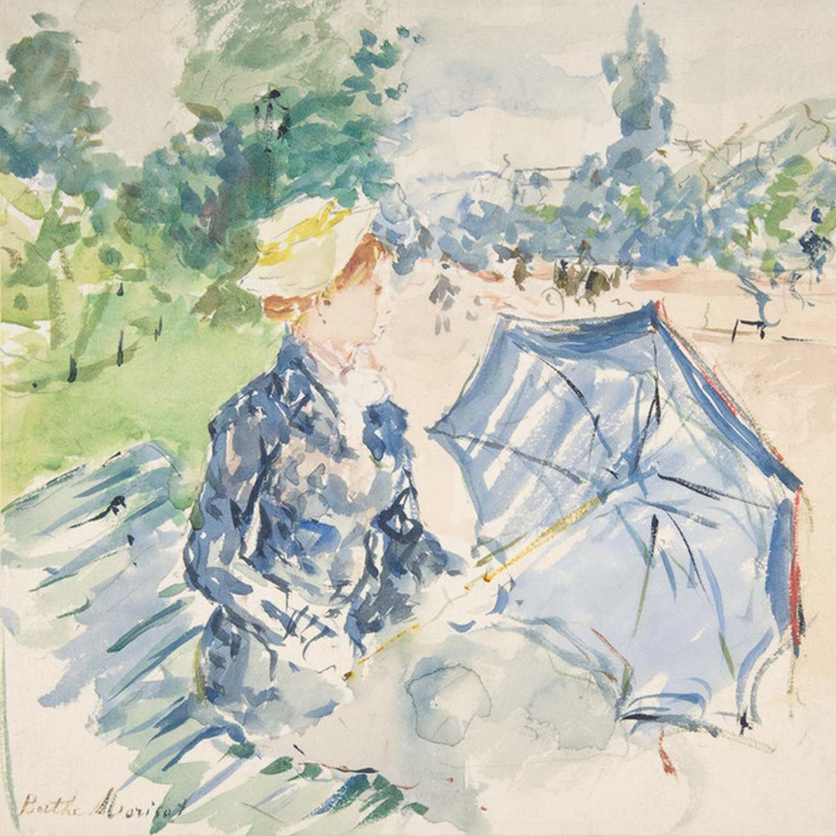 Art prints by female painter Berthe Morisot