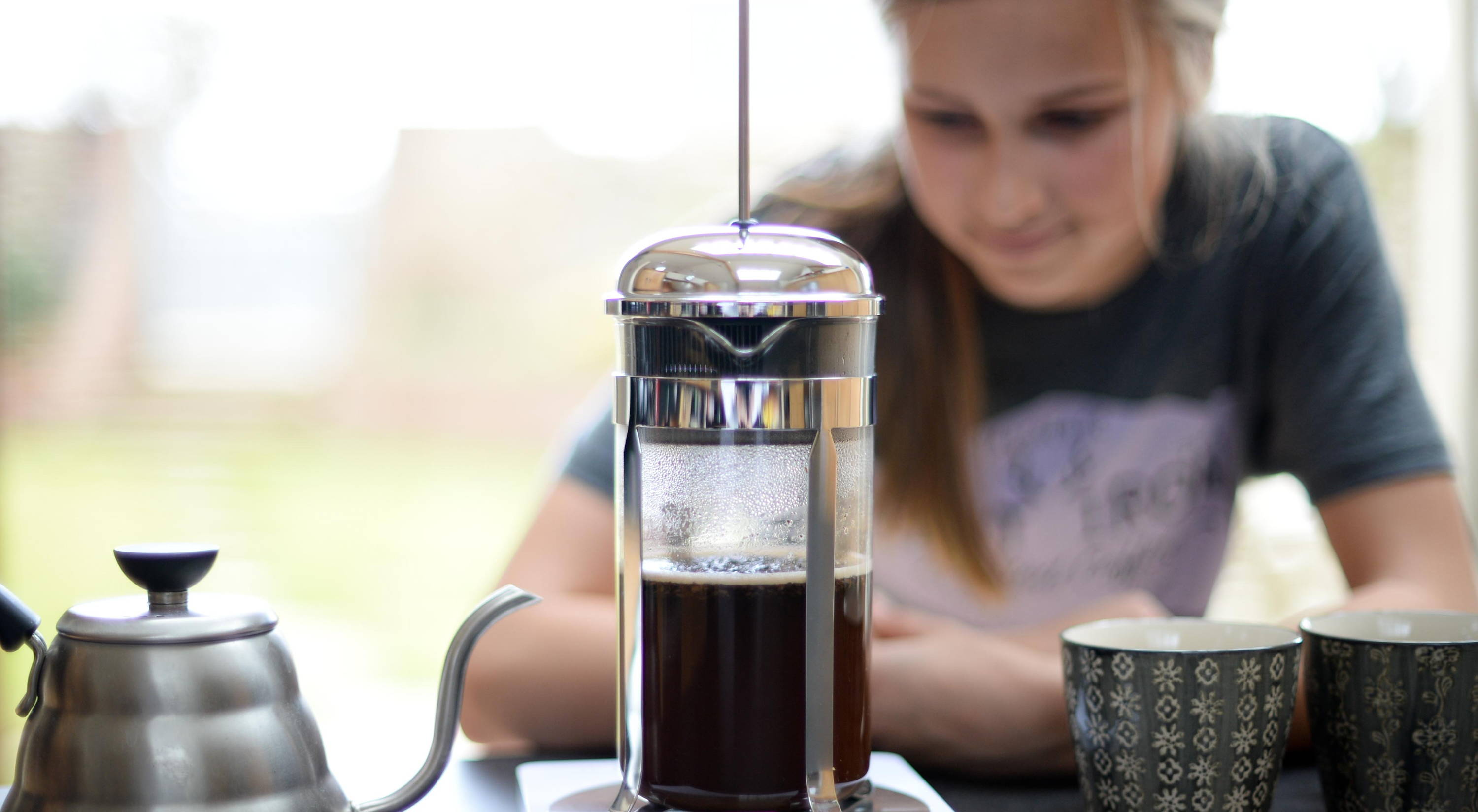 how to use a cafetiere | Cast Iron Coffee Roasters