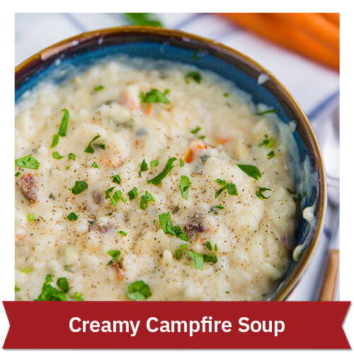 Creamy Campfire Soup