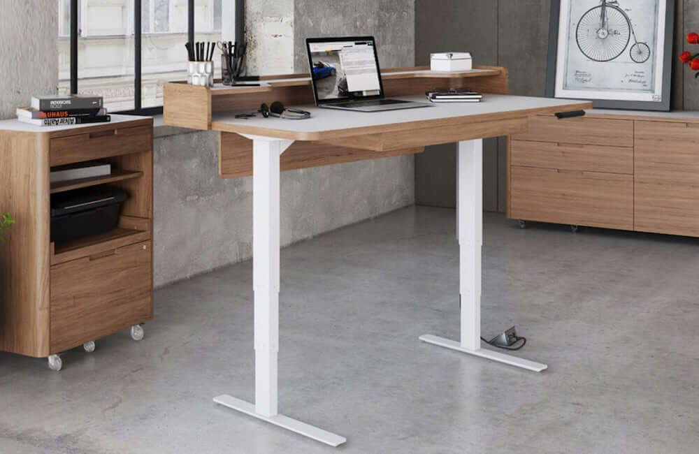 BDI Kronos Standing Contemporary Desk
