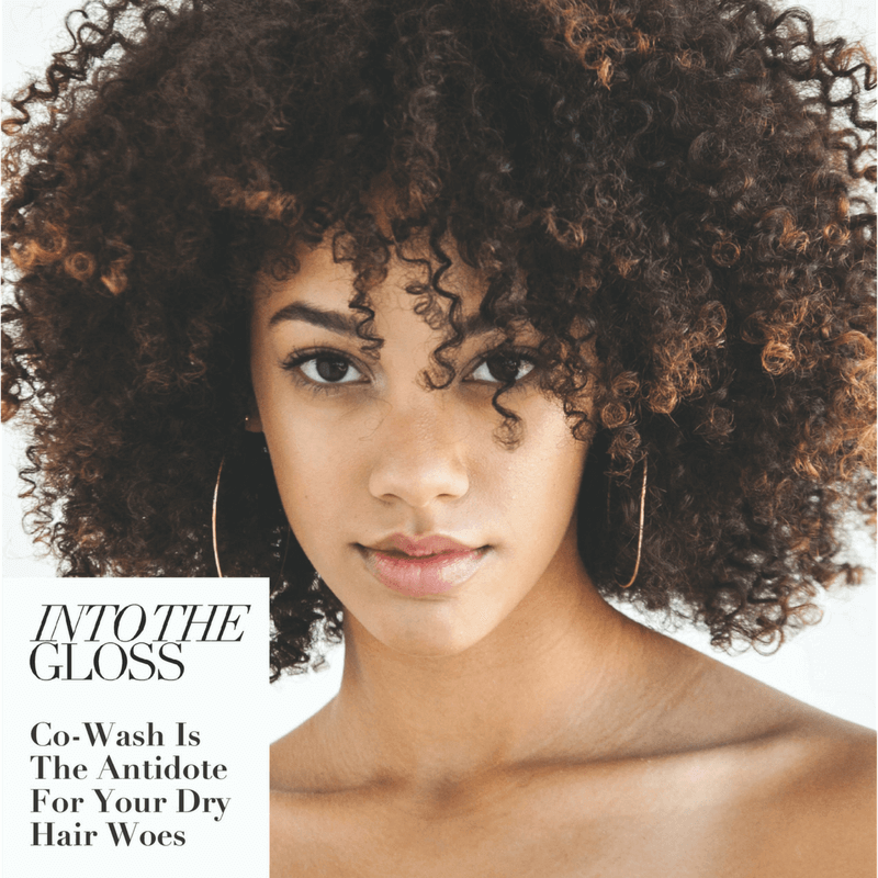 Into The Gloss: Co-Wash is the antidote for your dry hair woes