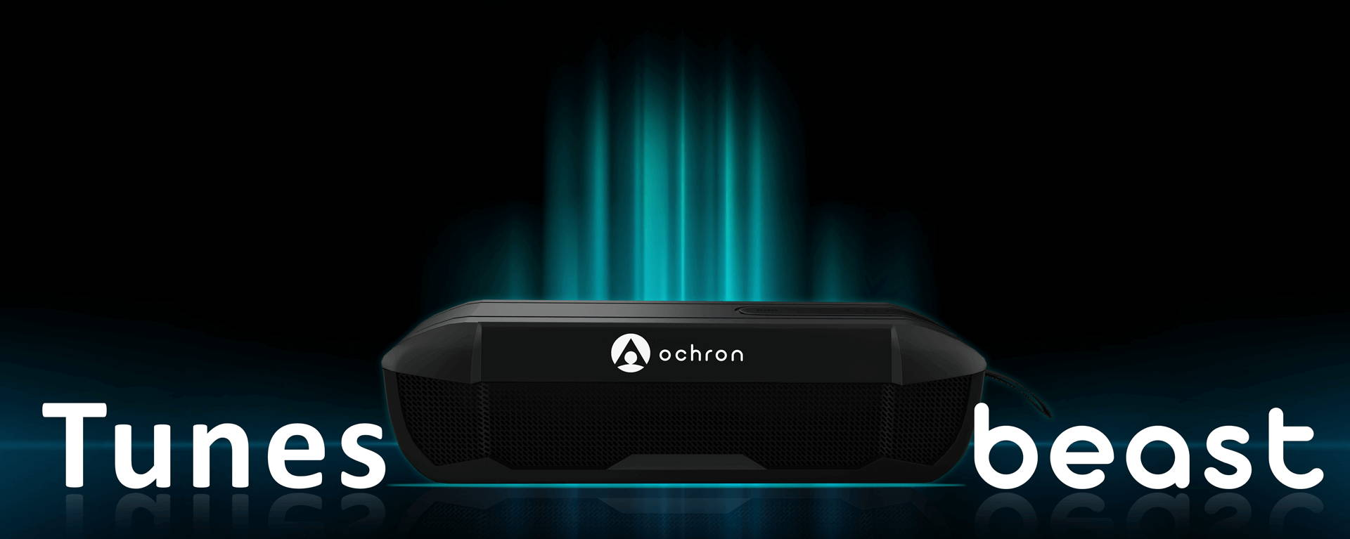 Ochron Tunes Beast True Wireless Bluetooth Stereo Speaker has a tremendous sound output for party lovers. TWS Beast is ideal for House Parties, Campings, Bonfires to create a great musical ambiance.