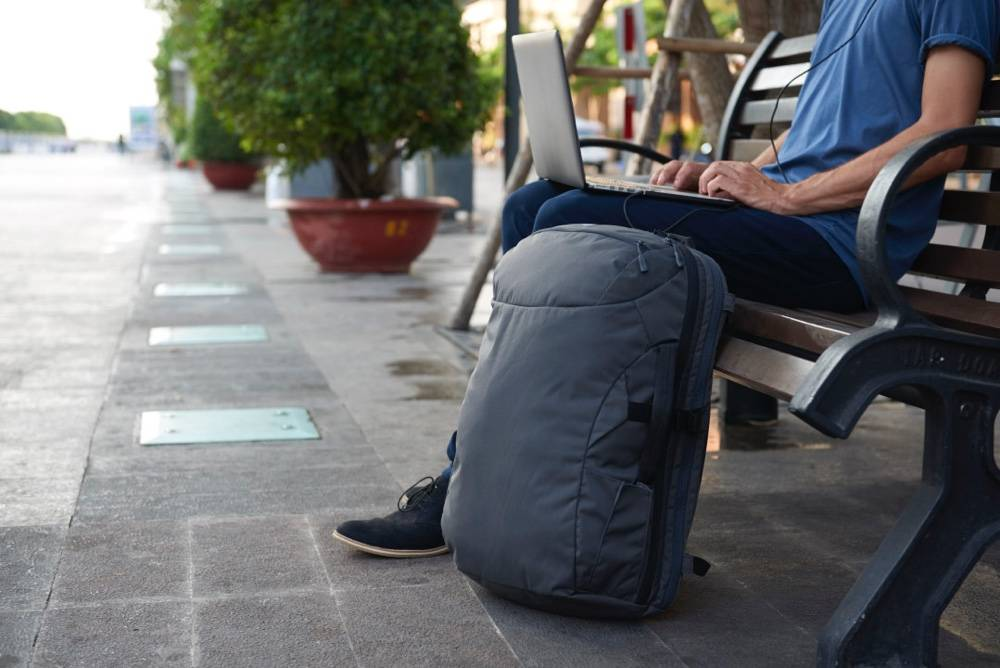 Minaal Carry-on 2.0 - The best backpack for carry on travel.