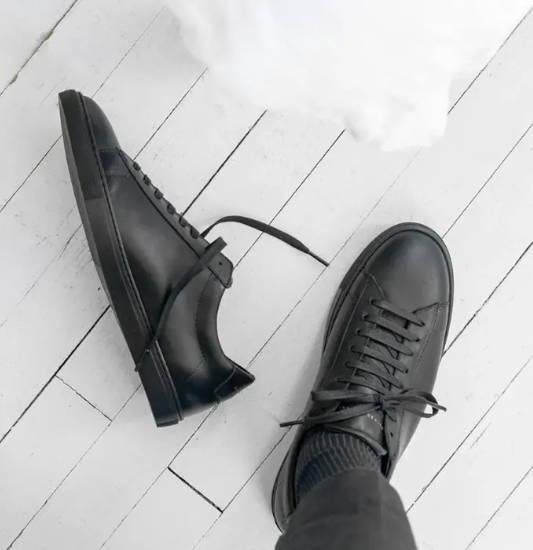 Oliver Cabell Low 1 Jet Black sneaker