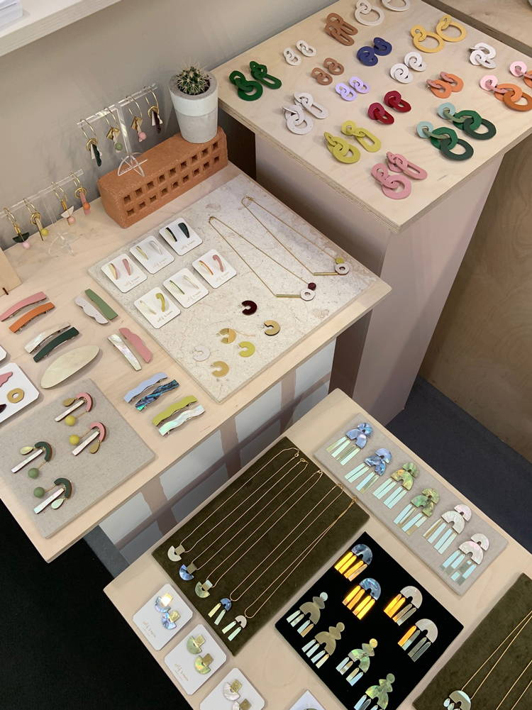 Our stand at Top Drawer (peek some upcoming pieces!)