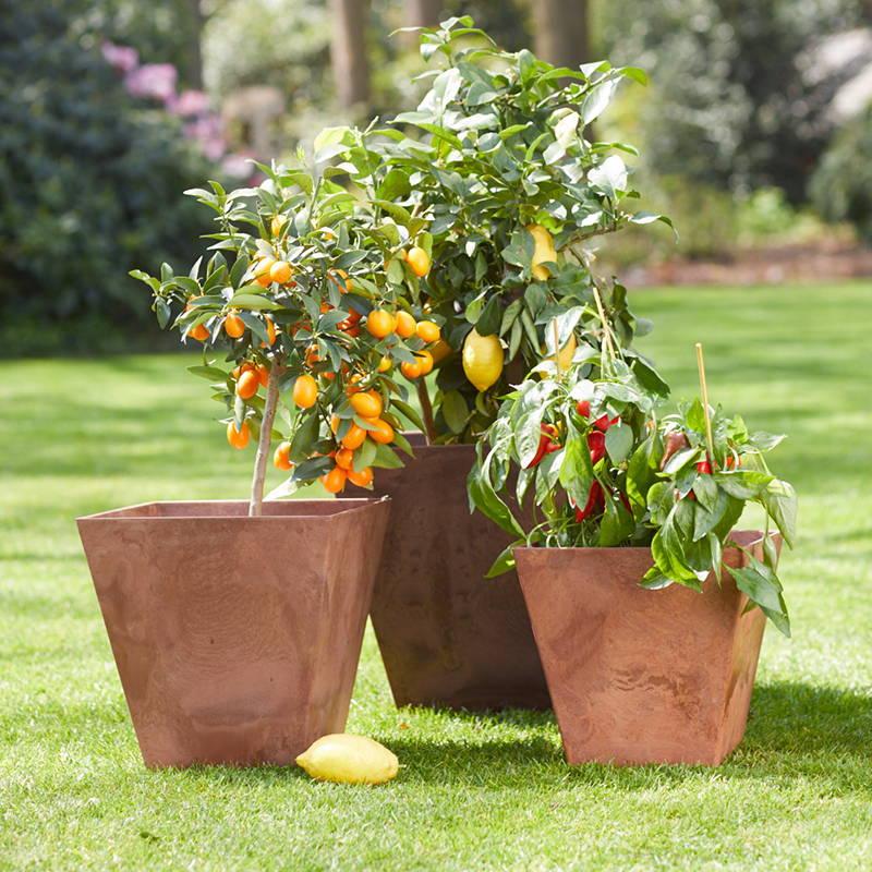 Ella Square planters