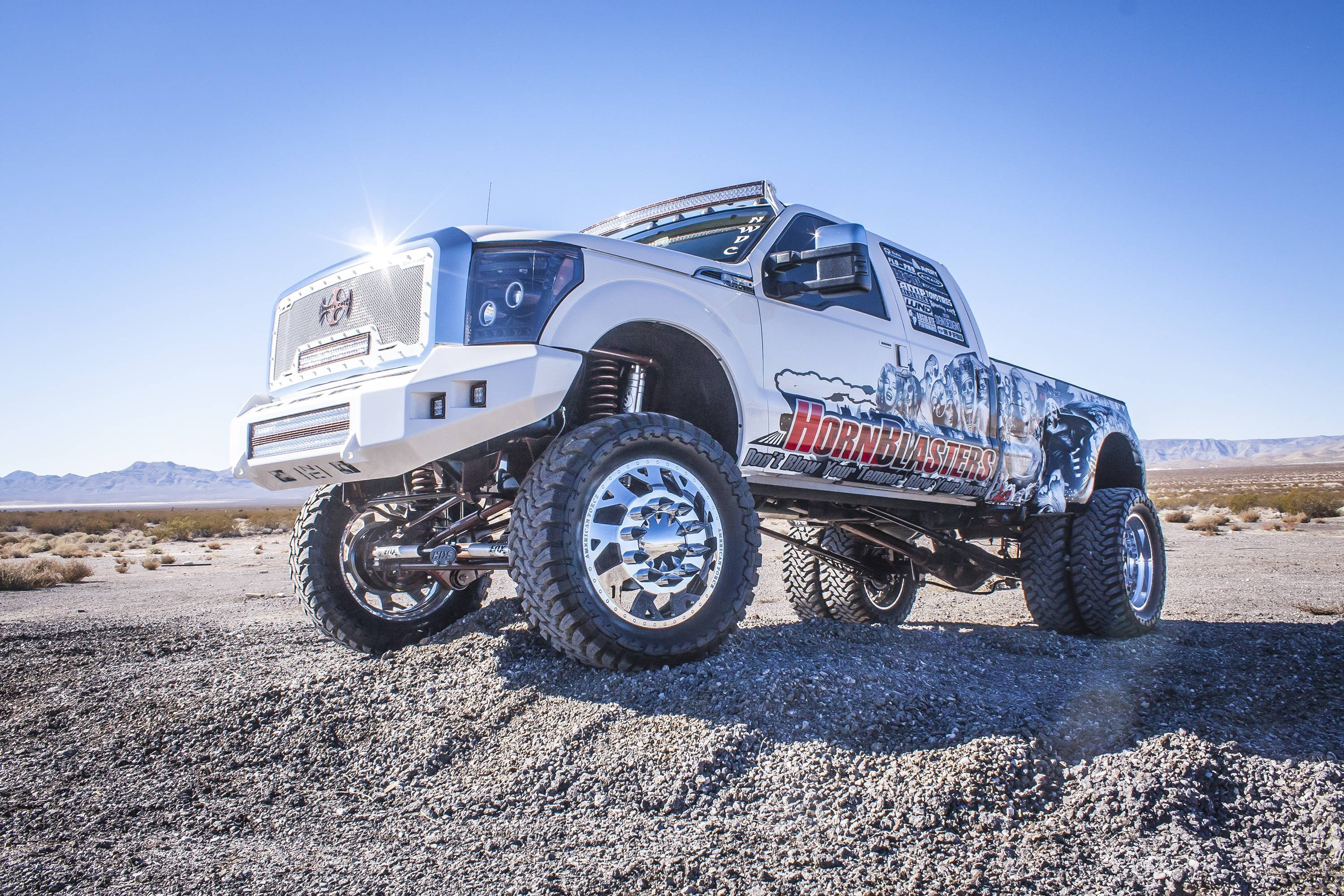 HornBlasters 2015 Ford F350 Dually