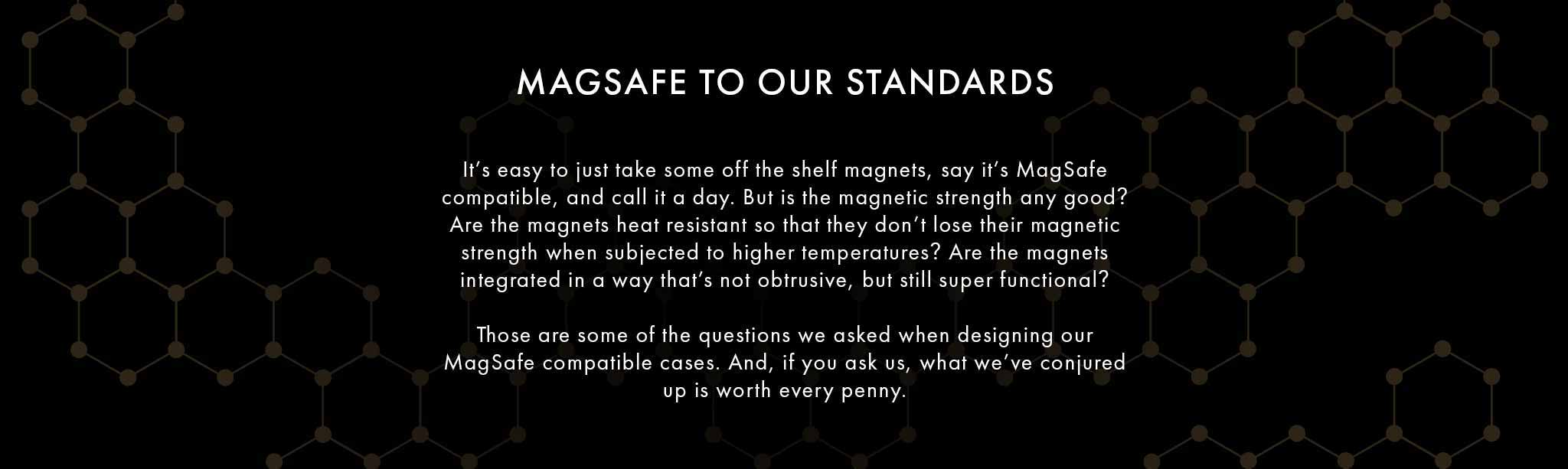 MagSafe to Our Standards