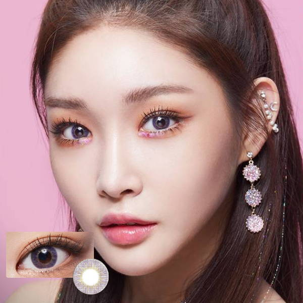 SHOP Lenstown Mystarry Violet Color Contacts