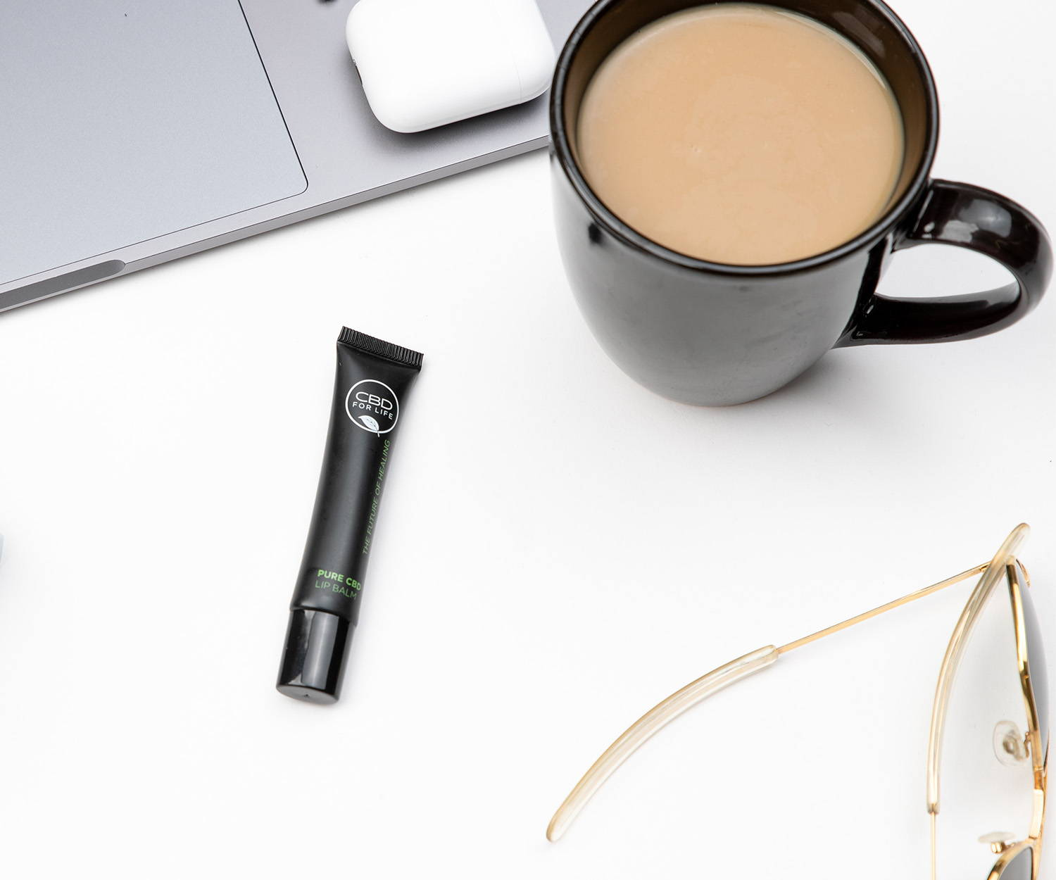 CBD Lip Balm by CBD For Life. Take care of your lips with CBD.