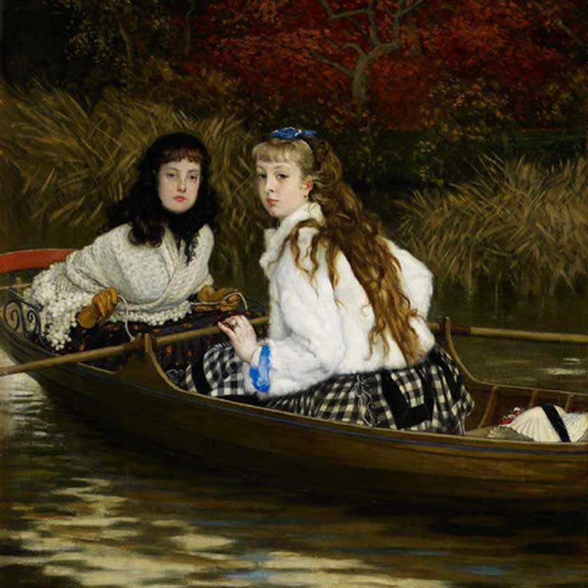 James Jacques Joseph Tissot Art