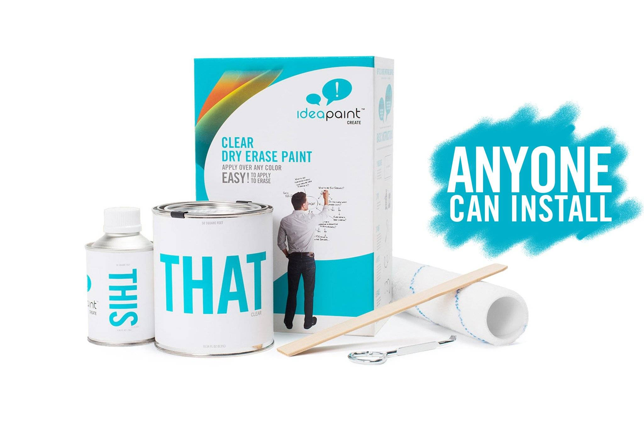 Clear Dry Erase Paint