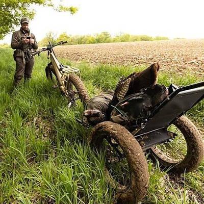 Quietkat electric hunting bike carrying capacity.