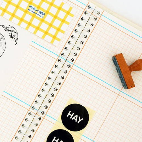 Wire-bound - Romane 2020 Eat play work 365 dated daily diary planner