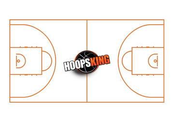 Basketball Court Diagram Hoopsking Yellow