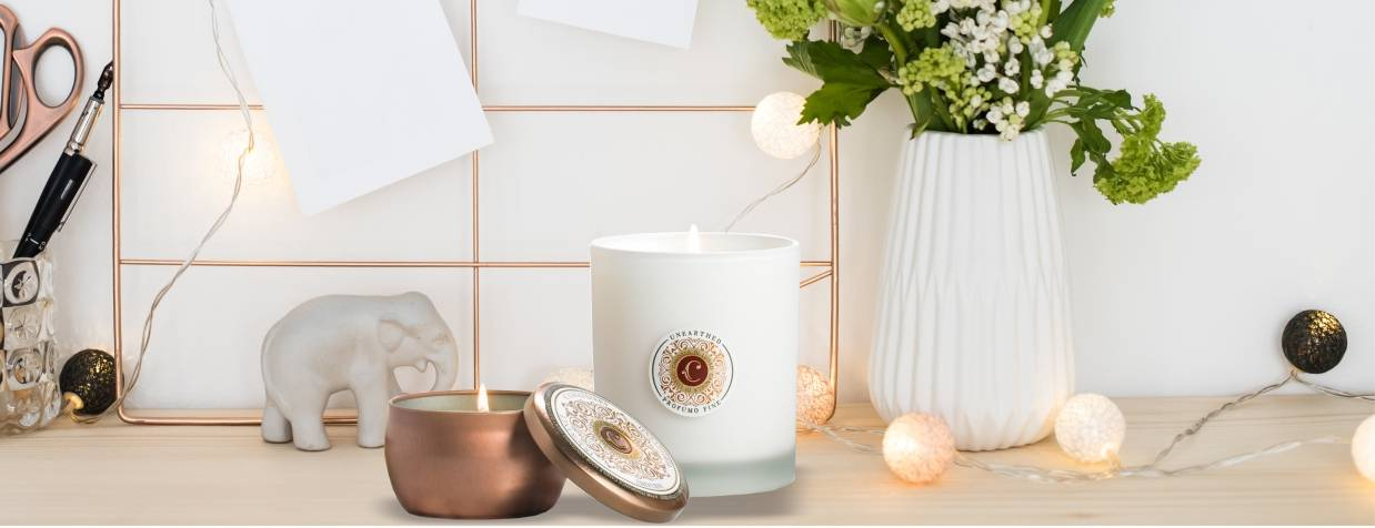 highly scented luxury farmhouse candles