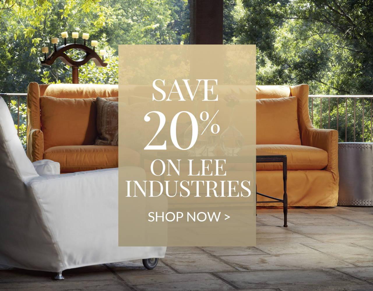 20% Off Lee Industries