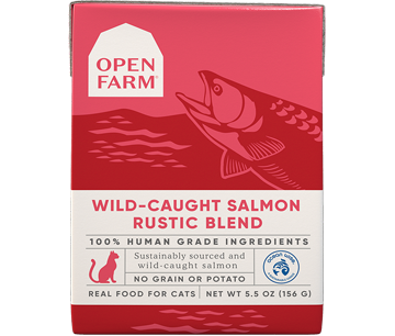 Wild-Caught Salmon Rustic Blend
