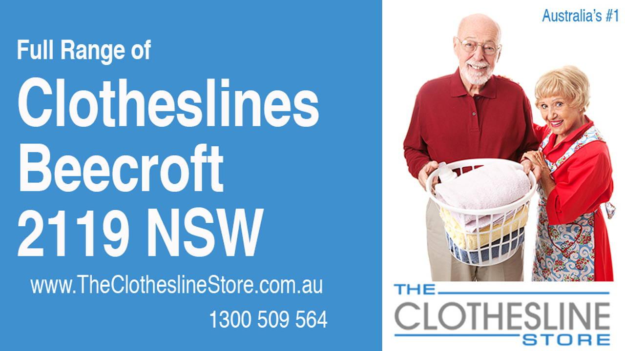 Clotheslines Beecroft 2119 NSW