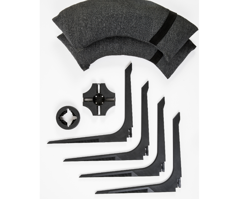 Baser parasolfod base kit