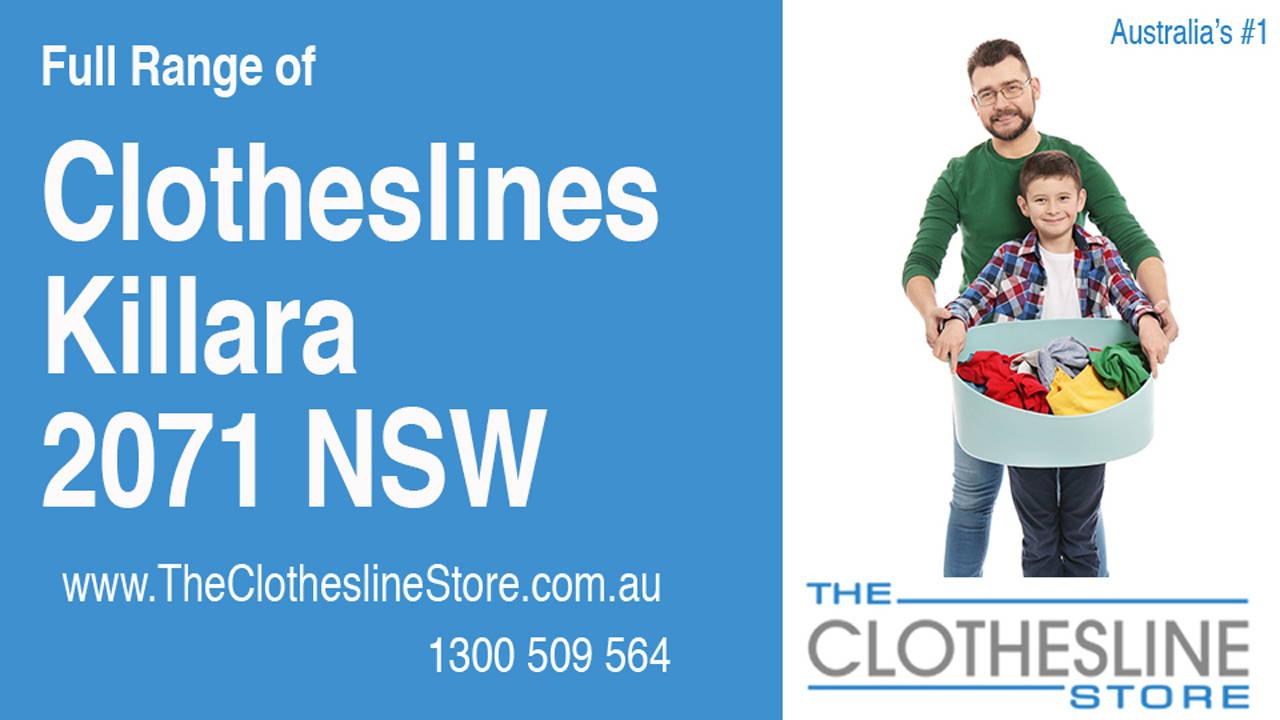 Clotheslines Killara 2071 NSW