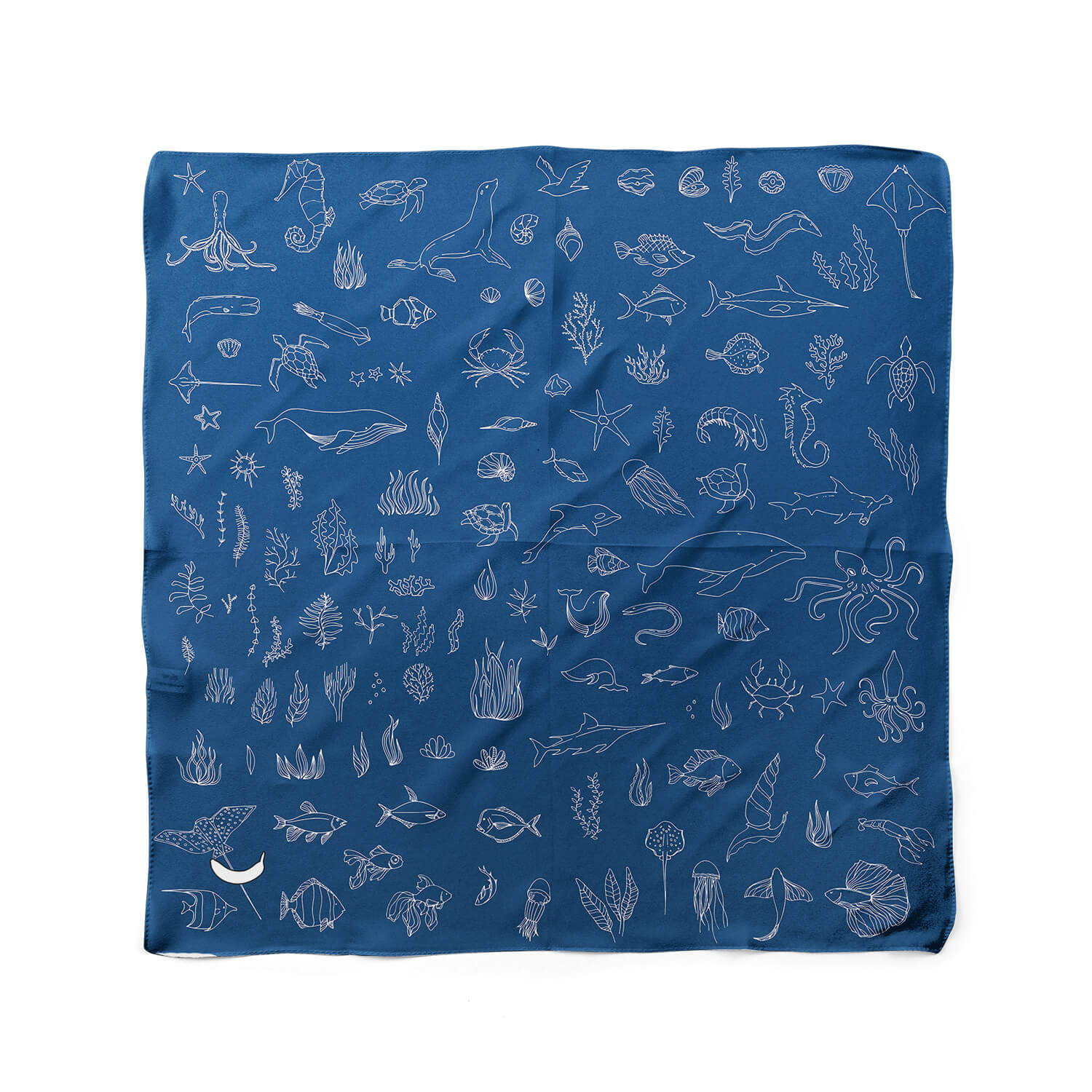 Banana Bandanas Motion in the Ocean dog bandana ocean creature fish dog bandana