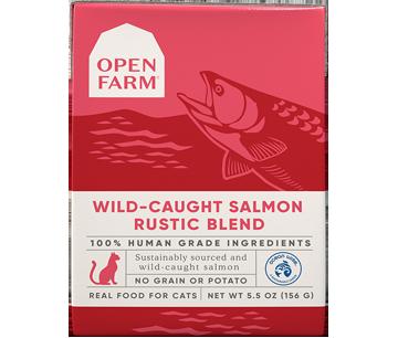 Wild Caught Salmon Rustic Blend