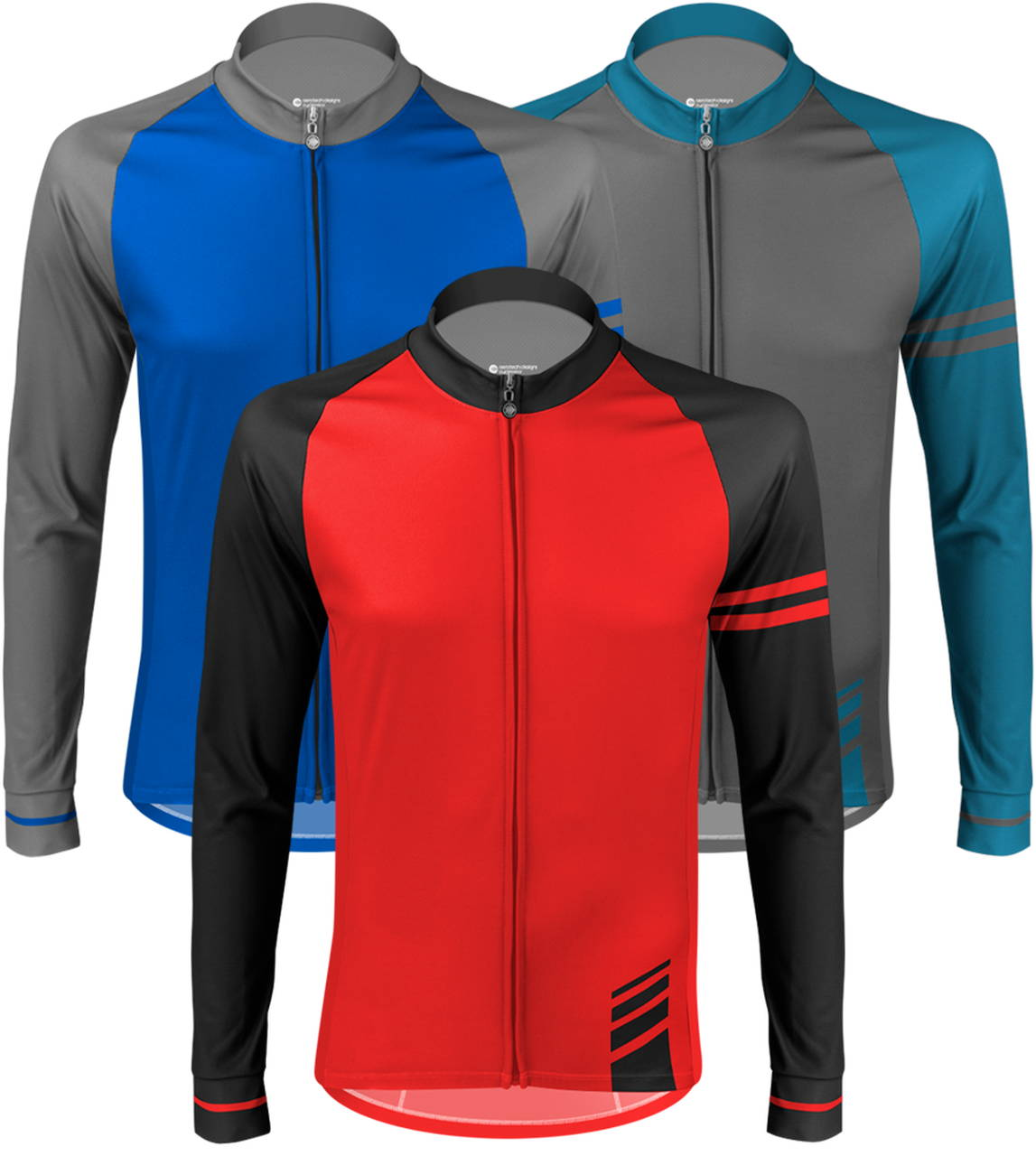 thermal classic long sleeve cycling jersey