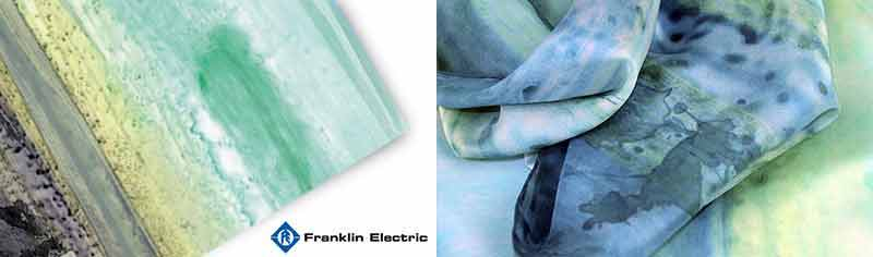 Corporate custom scarves - Polyester chiffon - Square