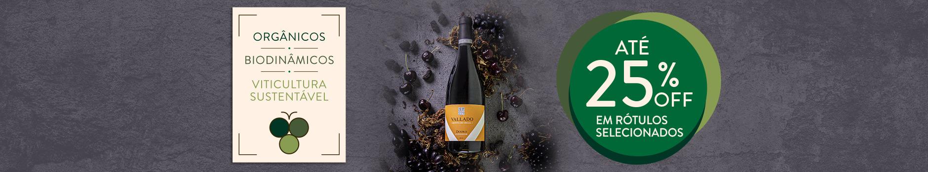 Vinhos orgânicos, biodinâmicos e de viticultura sustentável