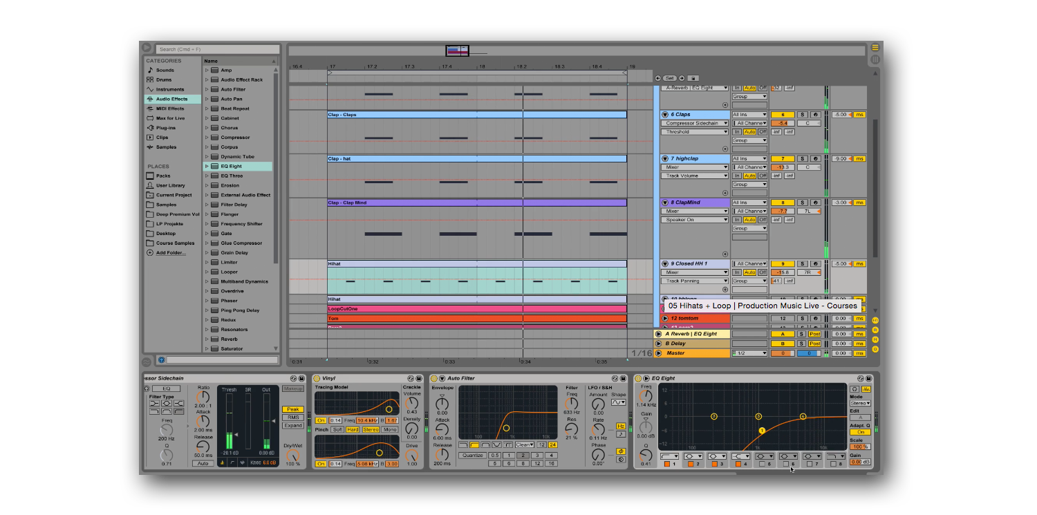 ableton melodic techno course example 1