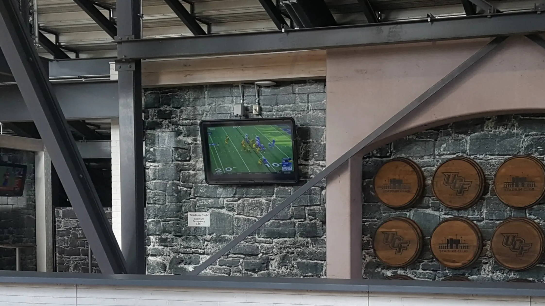 The Display Shield® at UCF's Stadium Club