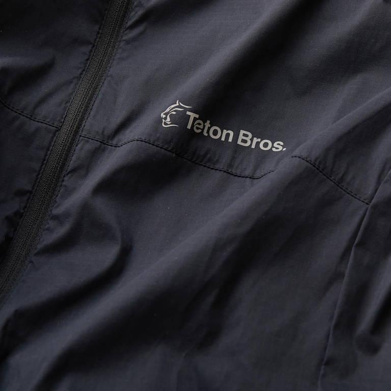 Teton Bros.(ティートンブロス)/ウインドリバーフーディ/ブラック/MENS