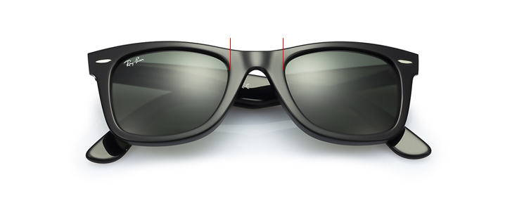 c39679e761 It is designed to support the majority of the glasses  weight. The bridge  width is the second number in (50-20-150). Typical widths are 12-26  millimeters.