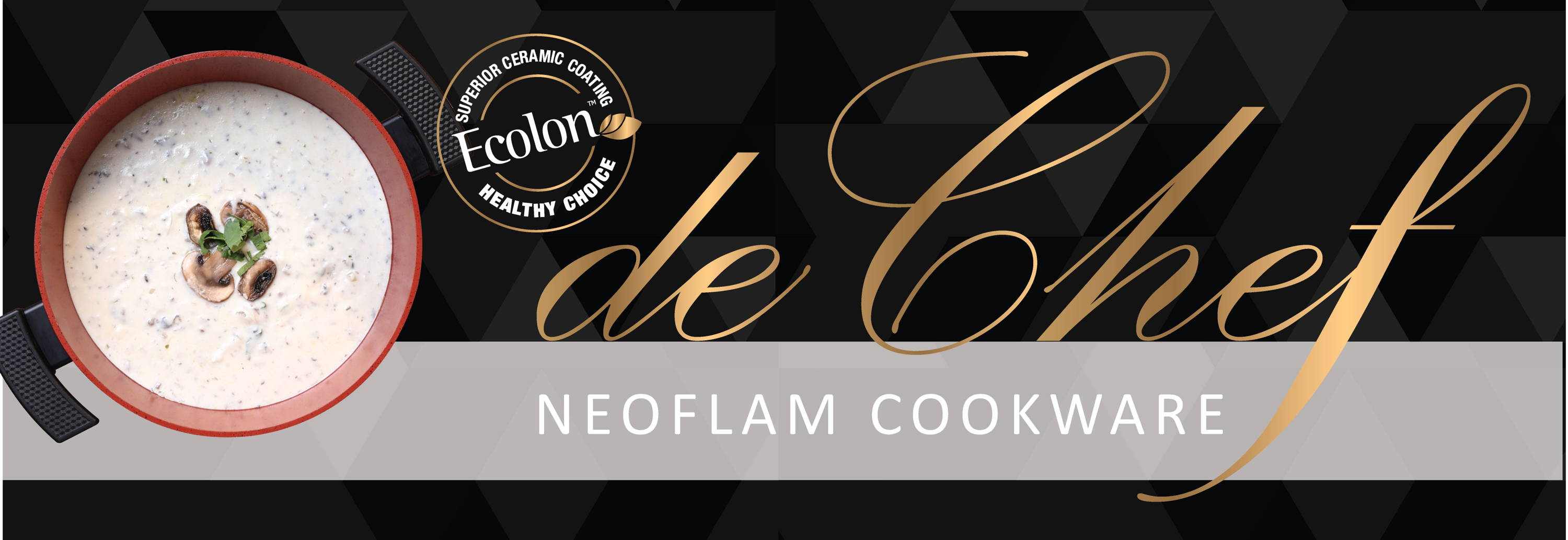 De Chef Neoflam Ecolon Cookware