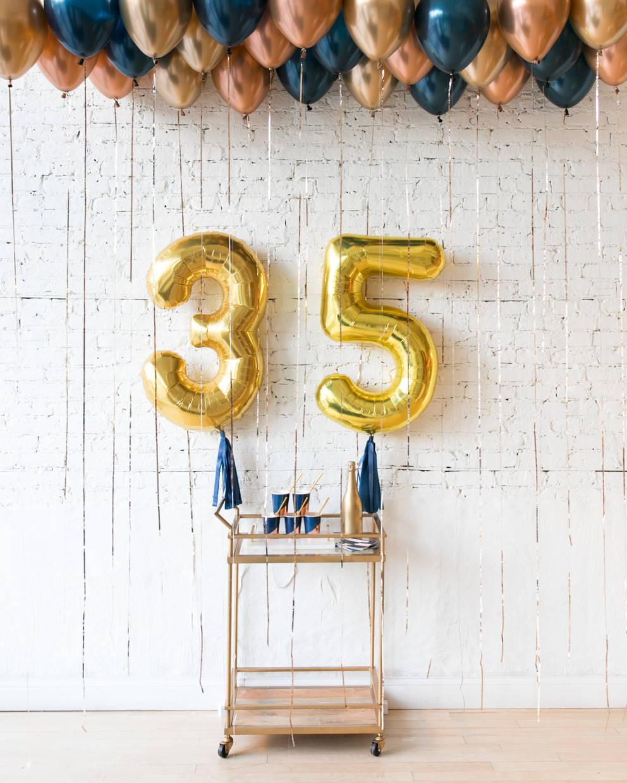 Elegant Birthday Decor