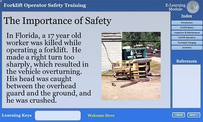 importance of forklift safety