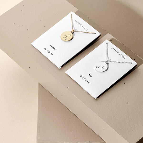 69c9547d4bc Stjernetegn halskæde og ur. Se det største udvalg af halskæder og ...