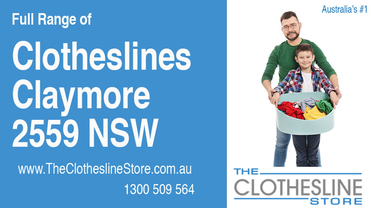 New Clotheslines in Claymore 2559 NSW
